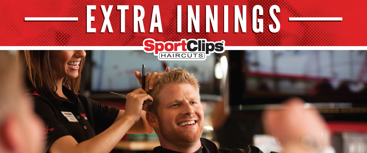 The Sport Clips Haircuts of Overland & I-84 Extra Innings Offerings